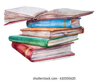 Watercolor Book Images, Stock Photos & Vectors | Shutterstock