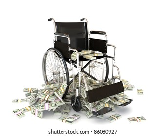 The high costs of medical care, Expenses in treatment, nursing homes, healthcare,insurance ect. concept