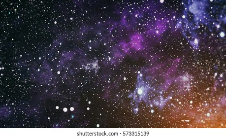 High definition star field background . Starry outer space background texture . Colorful Starry Night Sky Outer Space background ,