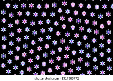 High definition vista comprising random asteraceae. Affection decoration.