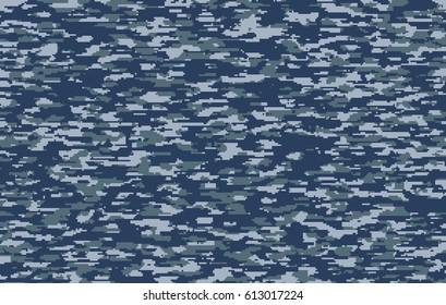High density US Navy color digital camo pattern