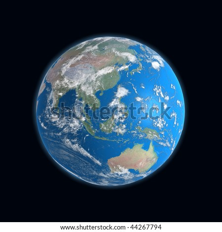 High detailed earth map china indonesia stock illustration 44267794 high detailed earth map china indonesia australia gumiabroncs Image collections