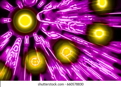 High Energy Photons - Photons Emission - Abstract Illustration