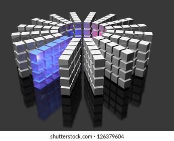 High performance database array