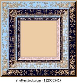 High quality fashion square shawl or pillow design
