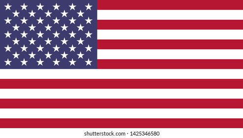 high resolution American national flag of United States of America, America
