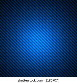 High resolution blue carbon fiber spotlight background illustration