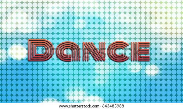 High Resolution Blue Dotted Background Merged Stock Illustration 643485988