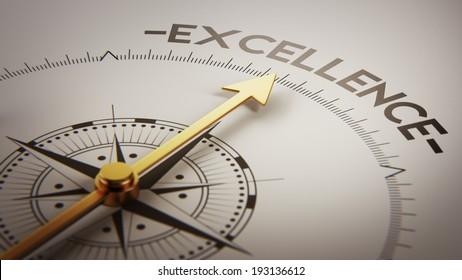 Concept d'excellence haute résolution