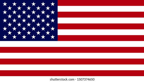 High Resolution Flag of the United States. USA Texture.
