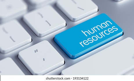 High Resolution Human Resources Concept