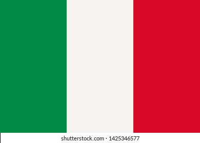 high resolution Italian national flag of Italy, Europe