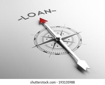High Resolution Loan Concept
