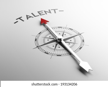High Resolution Talent Concept