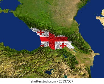 Map Of Georgia Landforms.Map Of Georgia Images Stock Photos Vectors Shutterstock