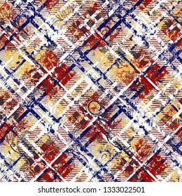 Highly detailed abstract texture or grunge background. For art texture, grunge checks design, and vintage paper or border frame, modern floral pattern for carpet, rug, scarf, clipboard , shawl pattern