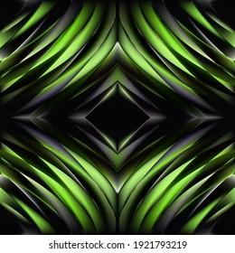 Hipnoz Spiral, hipnoz kavramı, azalan desen, renkli dokuda ışıltılı dairelerin soyut arka planı