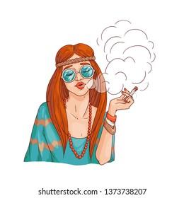 Marijuana Girl Cartoon Images Stock Photos Vectors Shutterstock