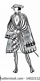 historical costume - German nobleman in the early 16th century