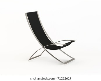 hi-tech armchair. beach bed, stylish chair