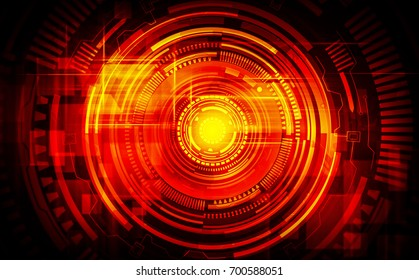 Hi-tech digital technology concept, abstract background