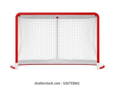 Hockey Gates Isolated
