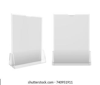 Holder Isolated on White Background, 3D rendering