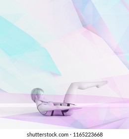 Holistic Wellness and Approach to Good Health 3D Render
