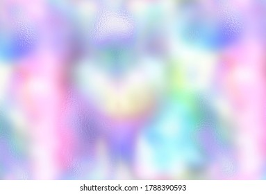 Holographic light blurred texture backgrounds in bright pastel colors.