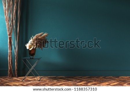 Royalty Free Stock Illustration Of Home Interior Mockup Rope