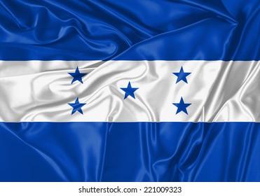 Honduras waving flag