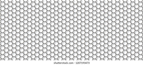 Honeycomb monochrome honey seamless pattern Vector eps hexagon mosaic background raster fun funny honey bee honeycombs Beehive orange and yellow honeycomb ornament