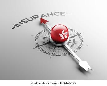 Hong Kong High Resolution Insurance Concept