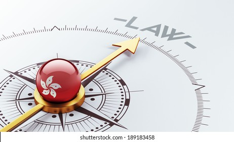 Hong Kong High Resolution Law Concept