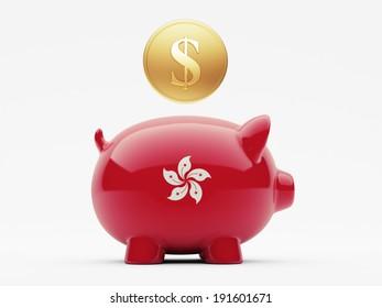 Hong Kong High Resolution Money Concept