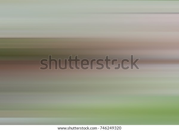 Horizontal lines motion effect on background blur