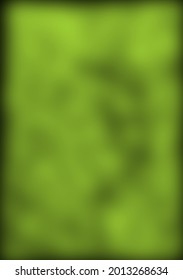 The horizontal rectangle is drawn in Photoshop, in green with black spots, blur is superimposed on top. This way the picture is used as a single design for decoration