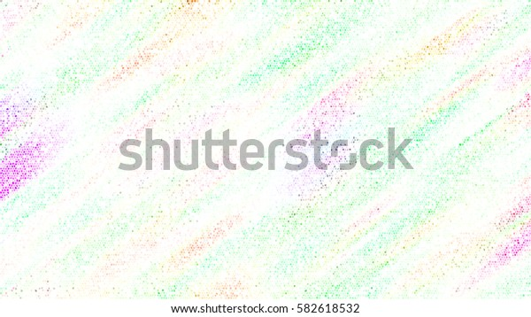Horizontal rectangle stained glass colorful abstract background