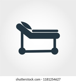 Hospital Cot icon. Simple element illustration Hospital Cot icon design from medicine collection. Line style icon design. Symbols for web design, apps, software, print.