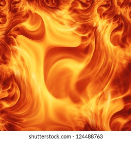 hot flame texture ; abstract background