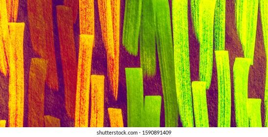 Hot Pink Shibori Pattern Line. Fuchsia Paintbrush Hipster Marker Stripes. Rose Cinnamon Paintbrush Hipster Marker Stripes. Camel Lilac Rainbow Hand Drawn Stroke.