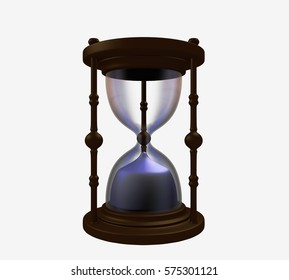Hourglass Render 3D Illustration