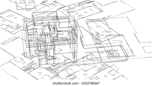 Structural Drawings Images, Stock Photos & Vectors