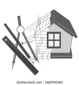 House building plan and drawing design engineer tool for business