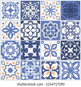 House mexican tiling patterns. Spain tales with floral texture