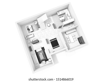 House plan 3d. 3d house plan.