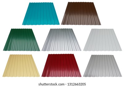 House remodel, corrugated metal roof, corrugated metal siding, profiled sheeting.