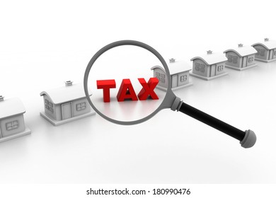 House with tax