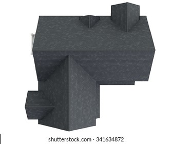 House Roof Top View Images Stock Photos Vectors Shutterstock