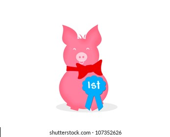 Howard the Pig - First Prize